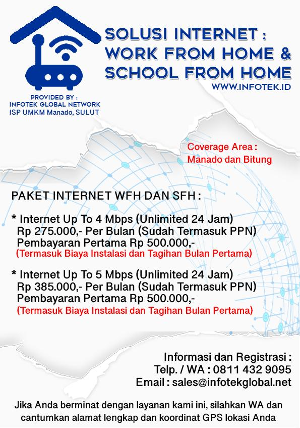 Work From Home & School From Home